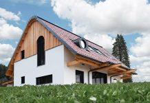 CLT lesena hiša